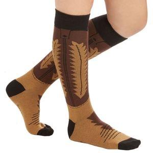 Modcloth cowboy novelty long socks